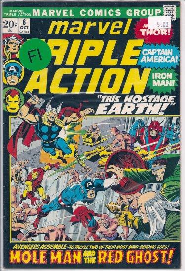 Marvel Triple Action # 6, 6.0 FN
