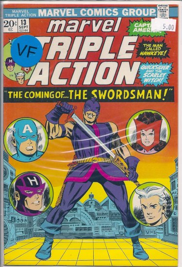 Marvel Triple Action # 13, 8.0 VF