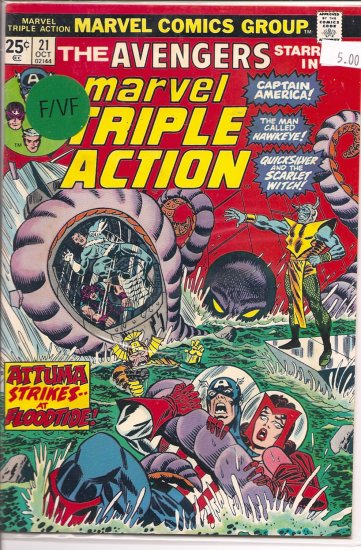 Marvel Triple Action # 21, 7.0 FN/VF