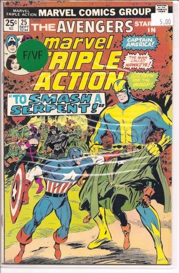 Marvel Triple Action # 25, 7.0 FN/VF