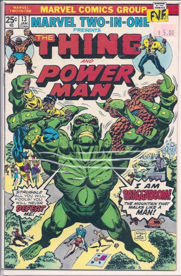Marvel Two-In-One # 13, 7.0 FN/VF