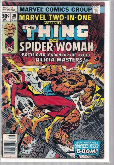 MARVEL TWO-IN-ONE # 30, 4.0 VG