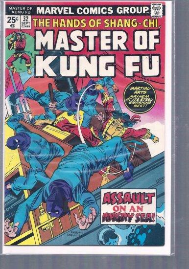 MASTER OF KUNG FU # 32, 5.5 FN -