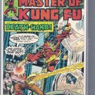 MASTER OF KUNG FU # 35, 5.0 VG/FN
