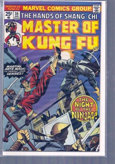 MASTER OF KUNG FU # 36, 7.0 FN/VF