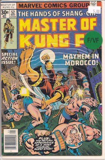 Master of Kung Fu # 52, 7.0 FN/VF