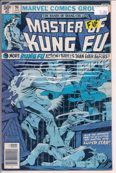 Master of Kung Fu # 96, 7.0 FN/VF