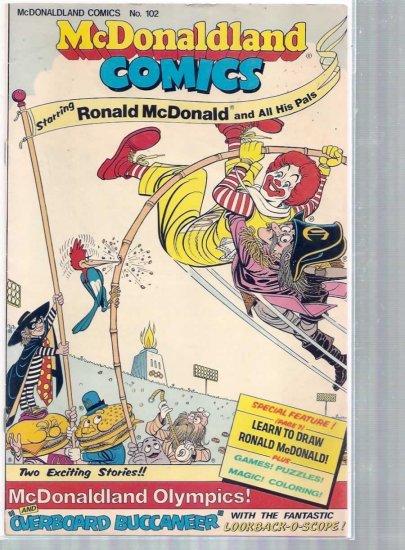 MCDONALD COMICS # 102, 5.0 VG/FN