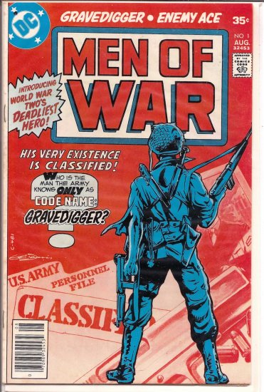 MEN OF WAR # 1, 4.5 VG +