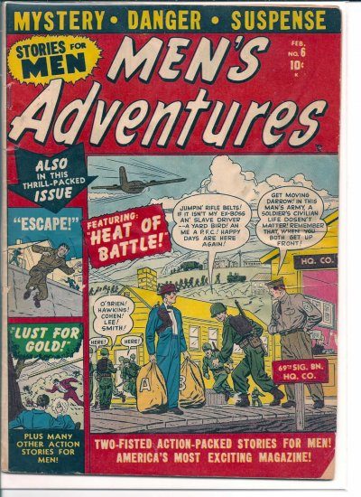 MEN'S ADVENTURES # 6, 2.0 GD