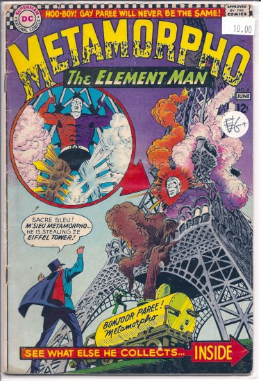 Metamorpho # 6, 2.5 GD +