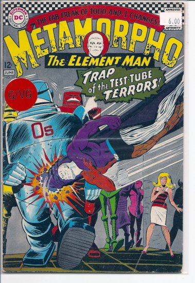Metamorpho # 12, 3.0 GD/VG