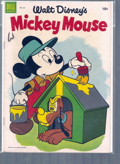 MICKEY MOUSE # 33, 4.5 VG +