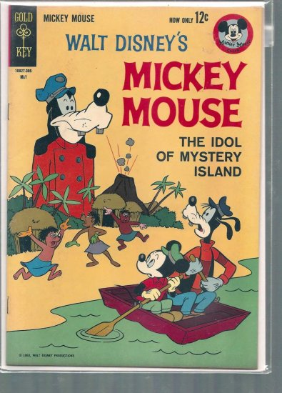 MICKEY MOUSE # 87, 5.0 VG/FN