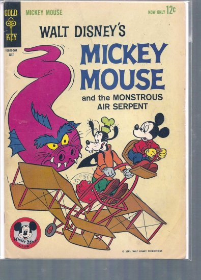 MICKEY MOUSE # 88, 4.0 VG