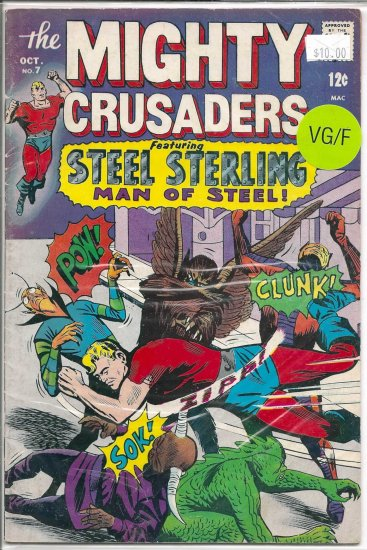 Mighty Crusaders # 7, 5.0 VG/FN