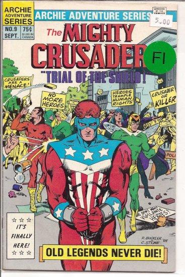 Mighty Crusaders # 9, 6.0 FN