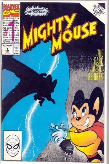 MIGHTY MOUSE # 1, 6.0 FN