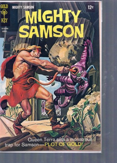 MIGHTY SAMSON # 15, 5.0 VG/FN