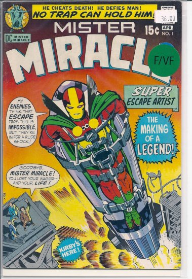 Mister Miracle # 1, 7.0 FN/VF