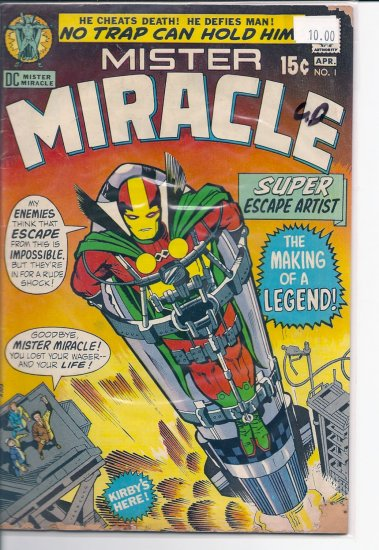 Mister Miracle # 1, 2.0 GD