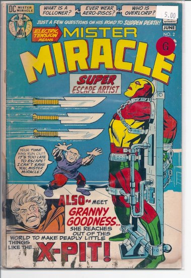Mister Miracle # 2, 2.0 GD