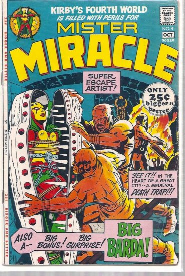 MISTER MIRACLE # 4, 4.5 VG +