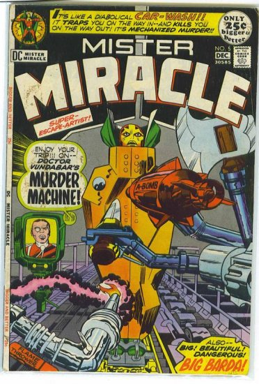 Mister Miracle # 5, 4.0 VG