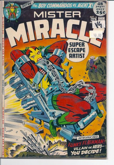Mister Miracle # 6, 4.0 VG