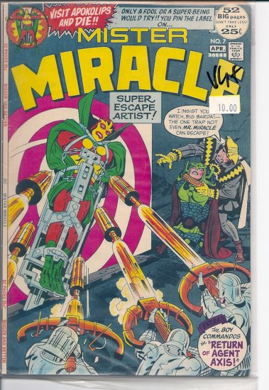 Mister Miracle # 7, 4.5 VG +