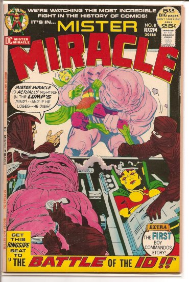 Mister Miracle # 8, 8.0 VF