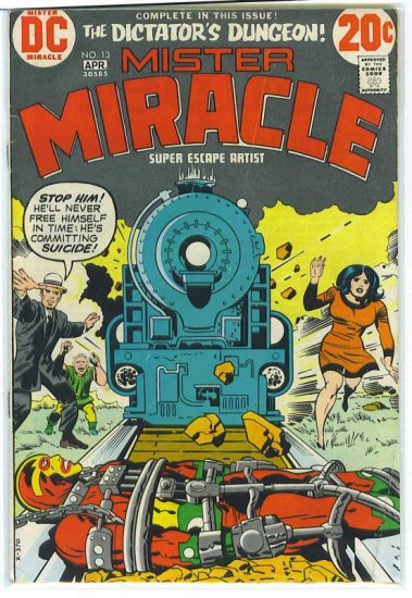 Mister Miracle # 13, 4.0 VG