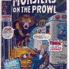 MONSTERS ON THE PROWL # 13, 4.0 VG