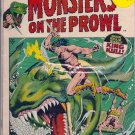 Monsters On The Prowl # 16, 4.5 VG +