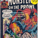 Monsters On The Prowl # 20, 4.5 VG +