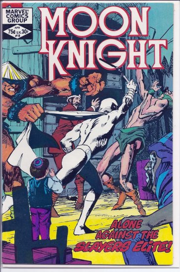 MOON KNIGHT # 18, 7.5 VF -