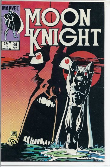MOON KNIGHT # 34, 7.0 FN/VF