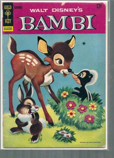 MOVIE COMICS BAMBI # 12, 4.0 VG