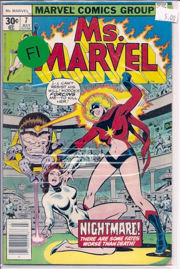 Ms. Marvel # 7, 6.0 FN