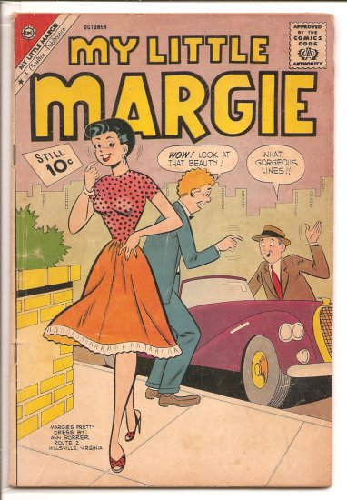 MY LITTLE MARGE # 38, 1.8 GD -