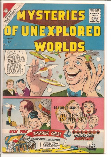 MYSTERIES OF UNEXPLORED WORLDS # 22, 3.5 VG -
