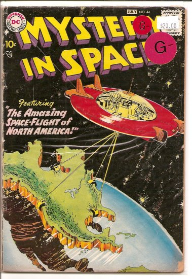 Mystery in Space # 44, 1.8 GD -