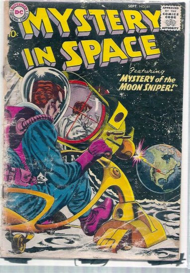 MYSTERY IN SPACE # 46, 1.0 FR