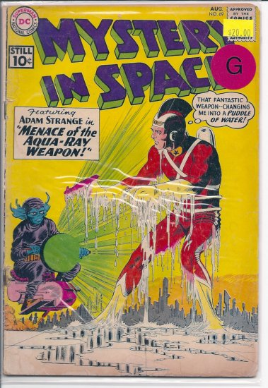 Mystery in Space # 69, 2.0 GD