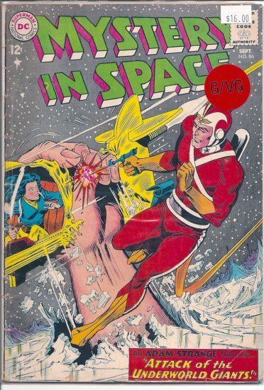 Mystery in Space # 86, 3.0 GD/VG