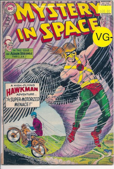 Mystery in Space # 89, 3.5 VG -