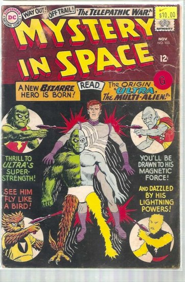 MYSTERY IN SPACE # 103, 2.0 GD