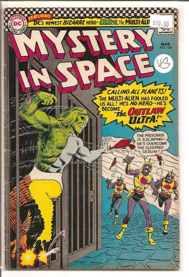 Mystery in Space # 106, 4.0 VG