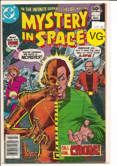 Mystery in Space # 117, 4.5 VG +