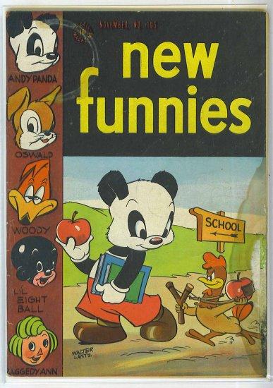 New Funnies # 105, 3.0 GD/VG